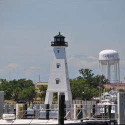 Ship Island Lighthouse Replica