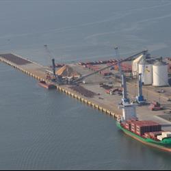 Gulfport Harbor Dock