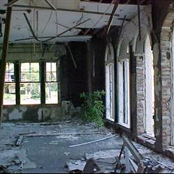 Lloyd Hall after Hurricane Katrina